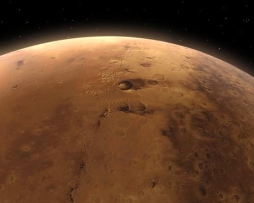 Колония людей на Марсе