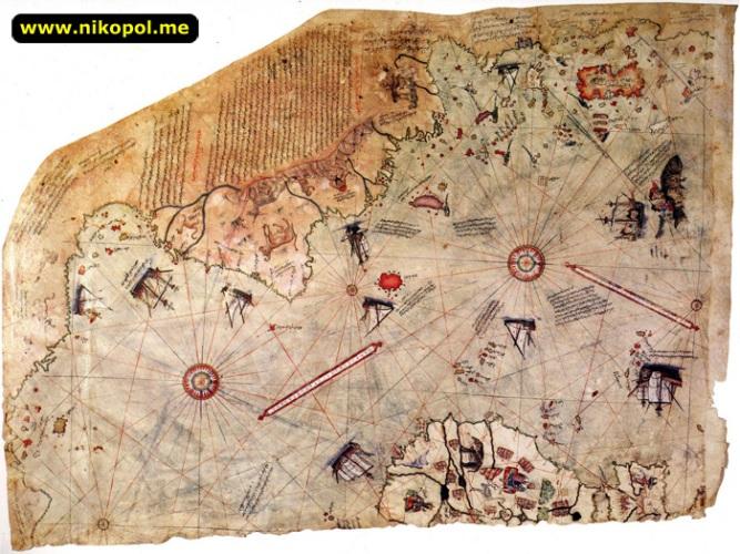Карта Пири Рейса фото