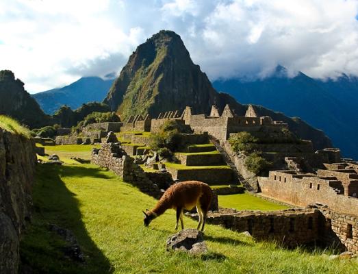 Мачу-пикчу в Перу