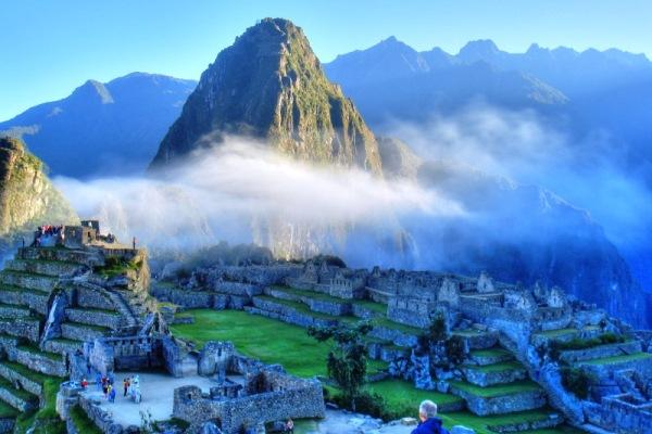 Покинутый город инков