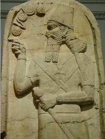 Бог Нинурта и часы
