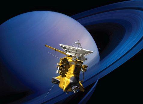 Cassini orbiter 2017