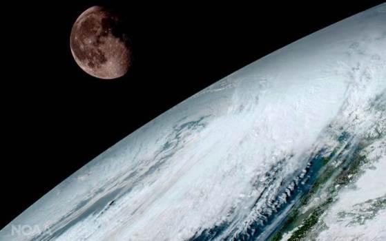 Качественный снимок Земли