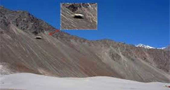 НЛО над гималайскими горами