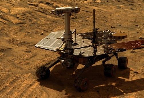 Opportunity на Марсе