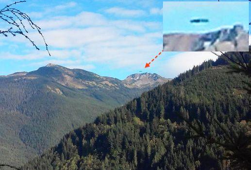 НЛО в горах