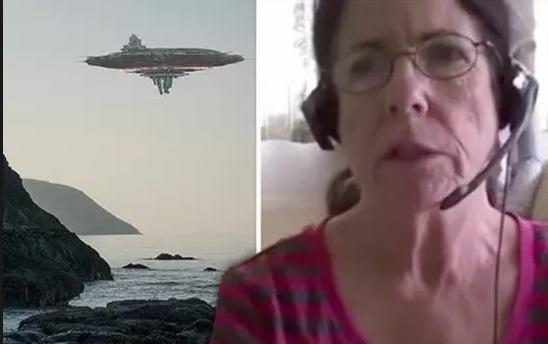 Джуди Кэрролл и НЛО