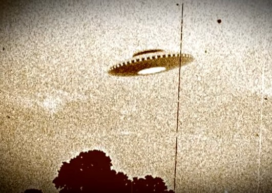 Старый снимок НЛО