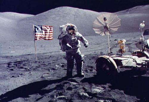 Астронавт из Аполлона 17
