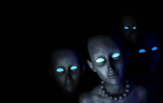 Голубые пришельцы