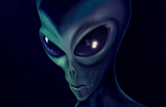 Серый инопланетянин