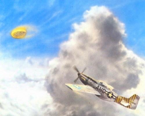 Самолет и НЛО