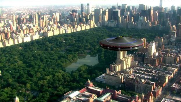 НЛО над Нью-Йорком