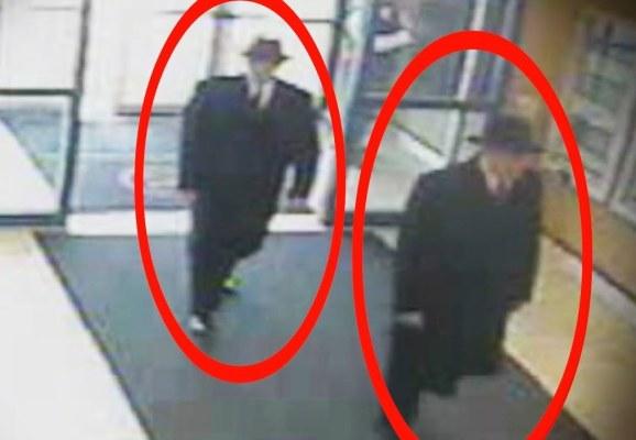 Двое людей в черном