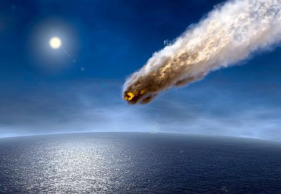 Метеорит и Земля