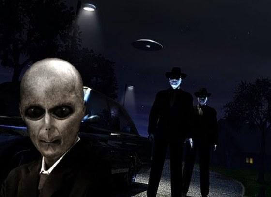 НЛО и люди в черном