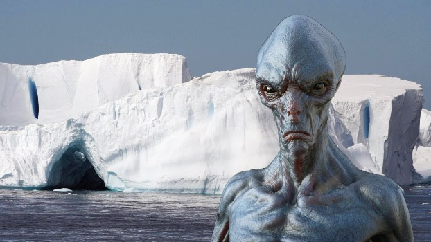 Пришельцы в Антарктиде